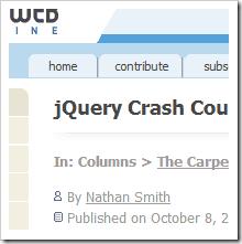 , Come iniziare ad apprendere jQuery (parte 2)