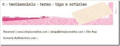 , Ispirazioni per Web Designer: 40 esempi di footer per il tuo blog
