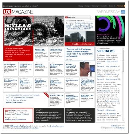 blog magazine esempio 17