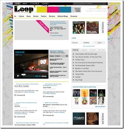 blog magazine esempio 2