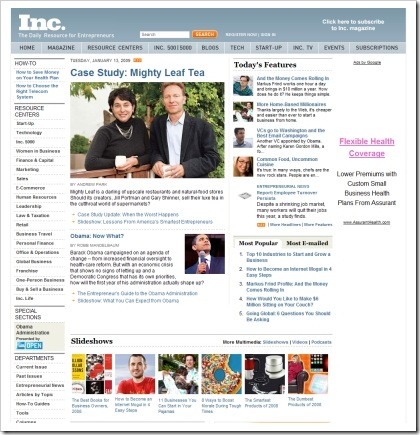 blog magazine esempio 25