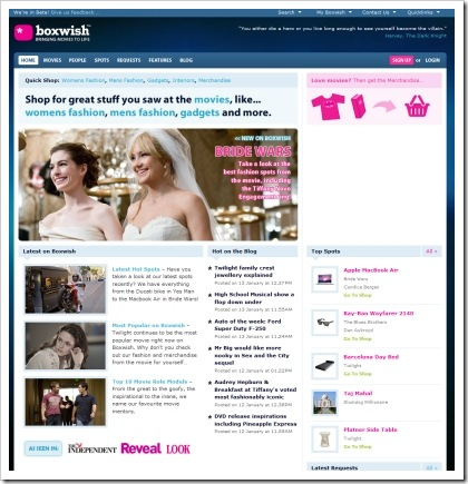 blog magazine esempio 5