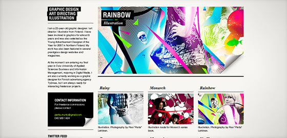 , Web Design: Questi Sono 20 Meravigliosi Esempi Di Siti Con Pagina Singola Per La Tua Ispirazione