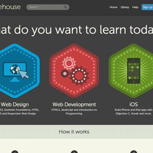 esempio di home page