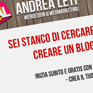 video corso di wordpress di Andrea Leti