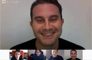 video intervista seo hangout