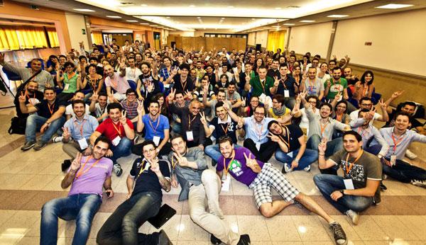 tutti i partecipanti al seminario per web designer freelance