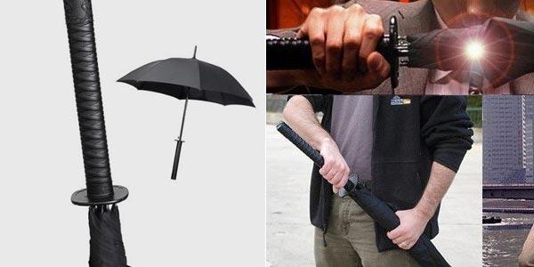 ombrello spada samurai