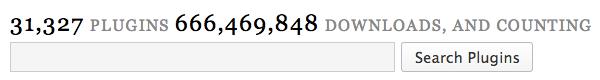motore di ricerca di plugin su wordpress